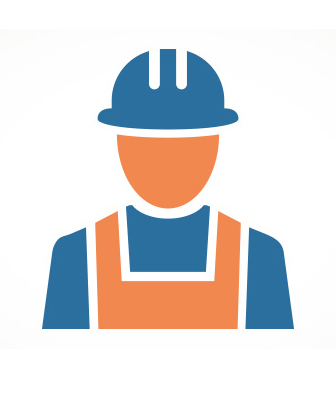 graphic of construction worker