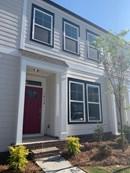 Cozy Exterior with fun painted door!